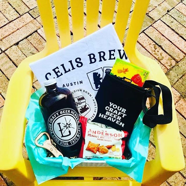 I know it's only Monday but some of us need a sneak peek to the weekend! Here's a glimpse at one of the 3 raffle baskets available on Saturday! All proceeds go straight to #riccifamilyadoption campaign! Link their campaign page in bio. . . . . . #swagfordays #fillupmygrowlerplease #riccifamilyadoption #craftbeer #supportlocalbeer #supportlocaladoption #dfw #project2713 #celisbrewery #lonestartapsandcaps #girlspintout #sharingiscaring