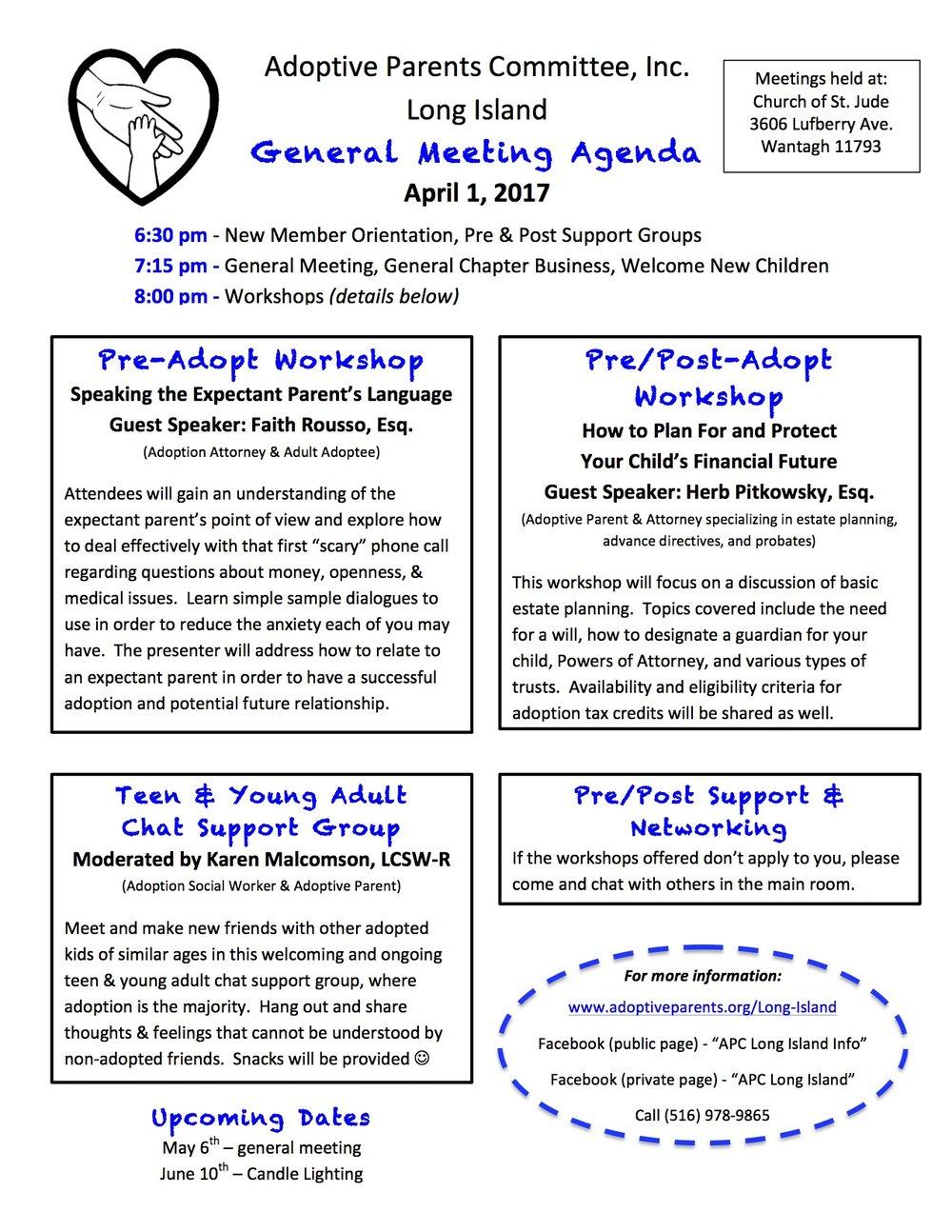 4-2017 agenda