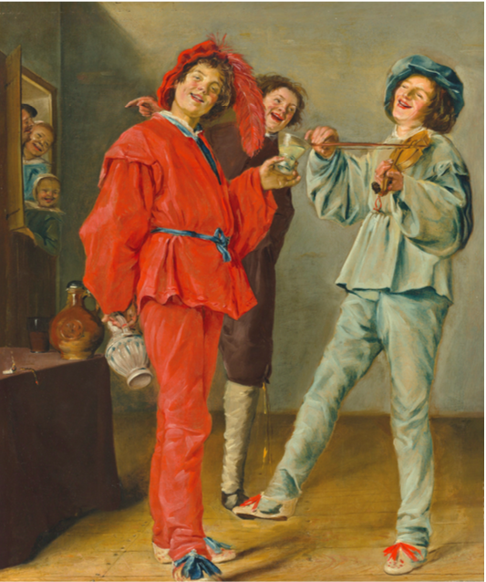 JUDITH LEYSTER (1609–1660)    Merry Company   oil on canvas 29 3⁄8 x 24 7⁄8 in. (74.5 x 63.2 cm.) £1,500,000–2,500,000