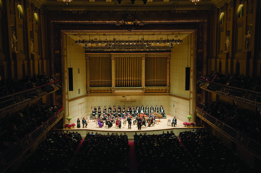 Musicians from the Handel and Haydn Society