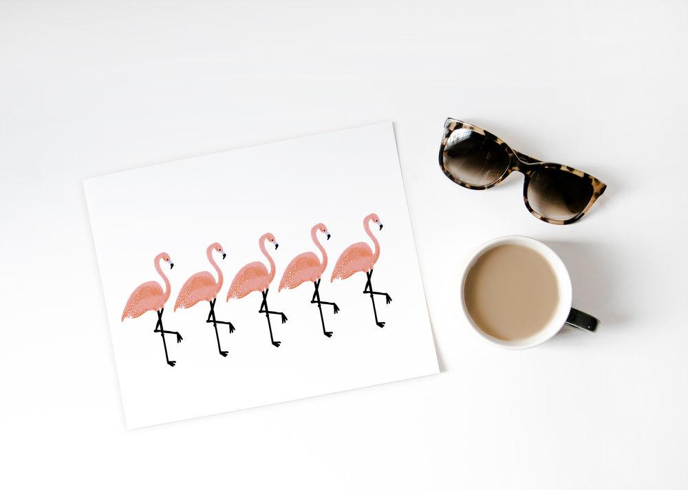 Overhead_Coffee and Sunglasses_Mockup_Flamingos.jpg