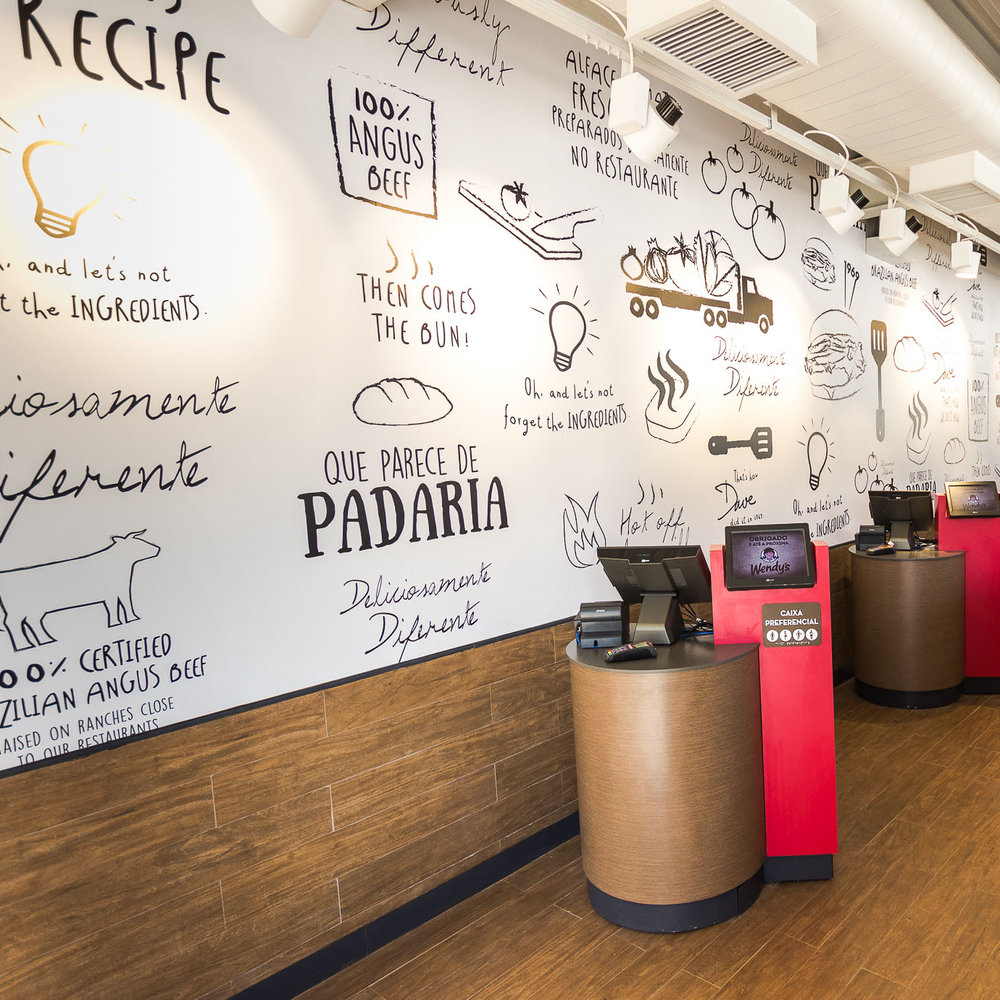 Wendy's International - Signage & Wall Decor