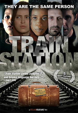 Train Station (2016) - When a mysterious train accident forces a man to change his plans, he is confronted with a series of choices, some big, some small. Each decision he makes leads to a different scenario, each one filmed by a different director with a different cast.  Watch it on Amazon prime.