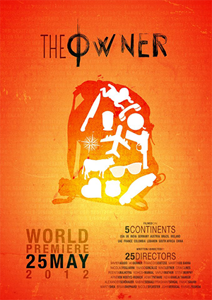 "The Owner (2012) - Filmed by 25 filmmakers on 5 continents, ""the owner"" follows the adventures of an old backpack that is passed from character to character around the world. As the journey progresses, we learn details about the mysterious man to whom the bag belongs.  Watch on Amazon Prime."