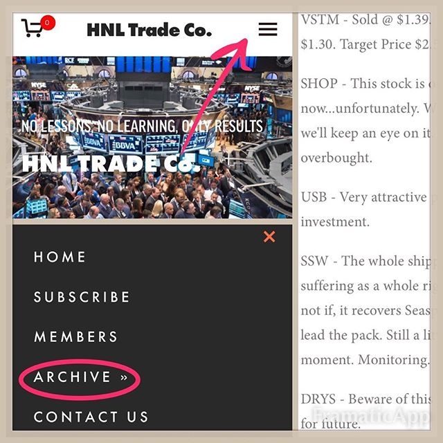 HNLTRADE DOT COM hnltrade.com  Last month's blog is now available in the archives at hnltrade.com. Take a look at all the information members are privy to before you sign up for a FREE 1-MONTH TRIAL (hnltrade.com/free-trial/). Let us do the research so you can sit back and profit.  Members gain access to: ➡️ Daily & weekly blogs. ➡️ Successful weekly stock picks. ➡️ Real-time text message alerts on all buys & sells. ➡️ Fast, reliable customer service.  #stock #stocks #stockmarket #trade #daytrade #daytrading #daytrader #nyse #dowjones #nasdaq #wallstreet #investment #investments #capital #capitalgains #capitalism #money #profit #free #freetrial #warrenbuffett #futurehedgefund #earning