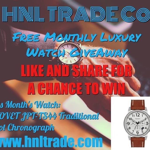 ⌚⌚⌚ We want to celebrate our 2017 success with you this year by giving a luxury watch every month this year. ⌚⌚⌚ LIKE AND SHARE FOR THE CHANCE TO WIN WINNER IS CHOSEN ON THE LAST DAY OF THE MONTH 💹💵💹HNL TRADE Co is a low risk, high reward Investment Fund that made a +82.71% gain last year. Give us a chance to make your money work for you!💹💵💹 #stocks #stockmarket #stocktrading #trading #trader #daytrading #daytrader #forex #learn #followforfollow #like4like #money #charts #education #pattern #stockcharts #newyork #finance #likeforfollow #wallstreet #market #newyorknever #futures #investor #investing #markets #options #millionaire #millionairemindset #invest