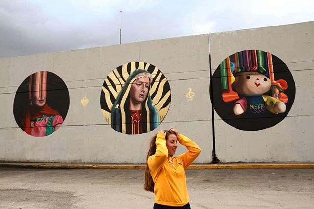 #2018 #recap  Still wrapping my head around what 2018 has been. The most beautiful thing about painting murals? The people you meet along the way. To all of you, my gratitude. 2019: let's do this!  Todavia me agarro la cabeza, no puedo creer lo que fue 2018! Lo mejor de pintar murales? La gente que conocés en el camino. A ustedes mí gratitud.  #recap #highlights #2018 #marieajras #streetart #argentina #mexico #usa @beyondwallslynn @urban.art.museum @centraldemuros @oakland @fundacionorb @pintatubarrioquilmes @bbcradio1 @publicartreview @kaaboodelmar @co_labs