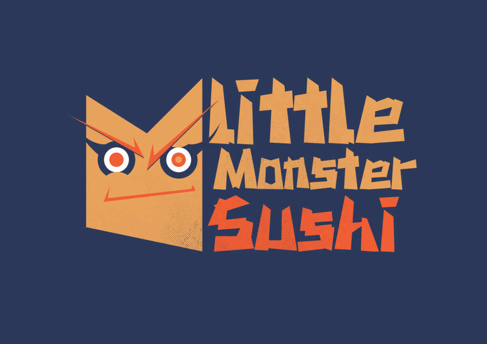 Little Monster Sushi - Branding