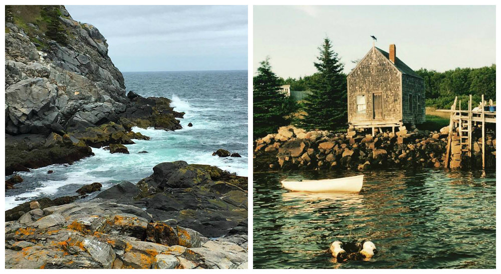 Through an architect's eye: snapshots of Maine from my dad's point of view. [Instagram Source: @ michaelmber]