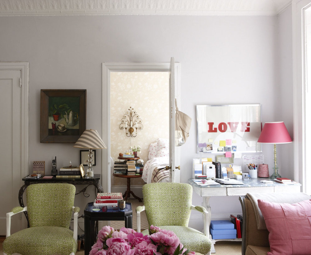 Another one of Rita's NYC apartments / Source:    Rita Konig