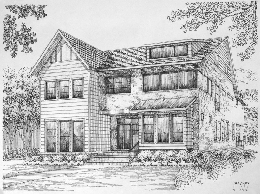 Sketch via    Stone Acorn Builders   .