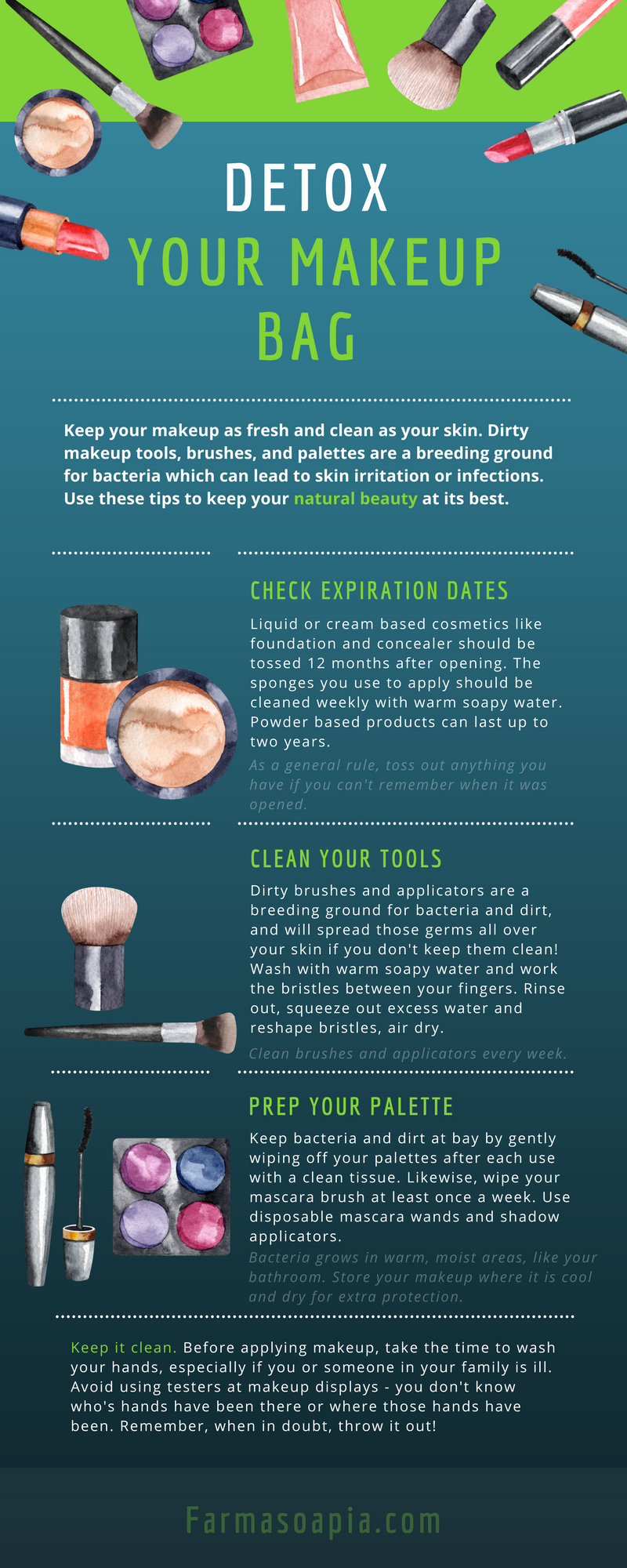 how to detox your makeup