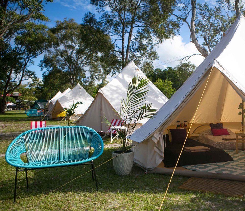 LUXURY CAMPING GETAWAYS