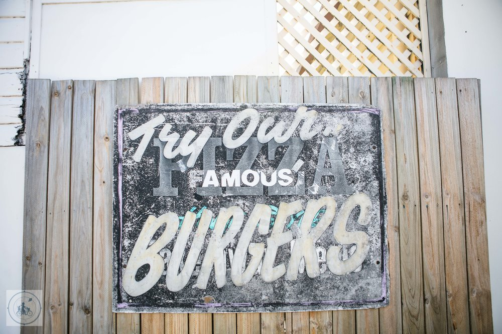 Old Maids Burger Store - Mamma Knows Byron