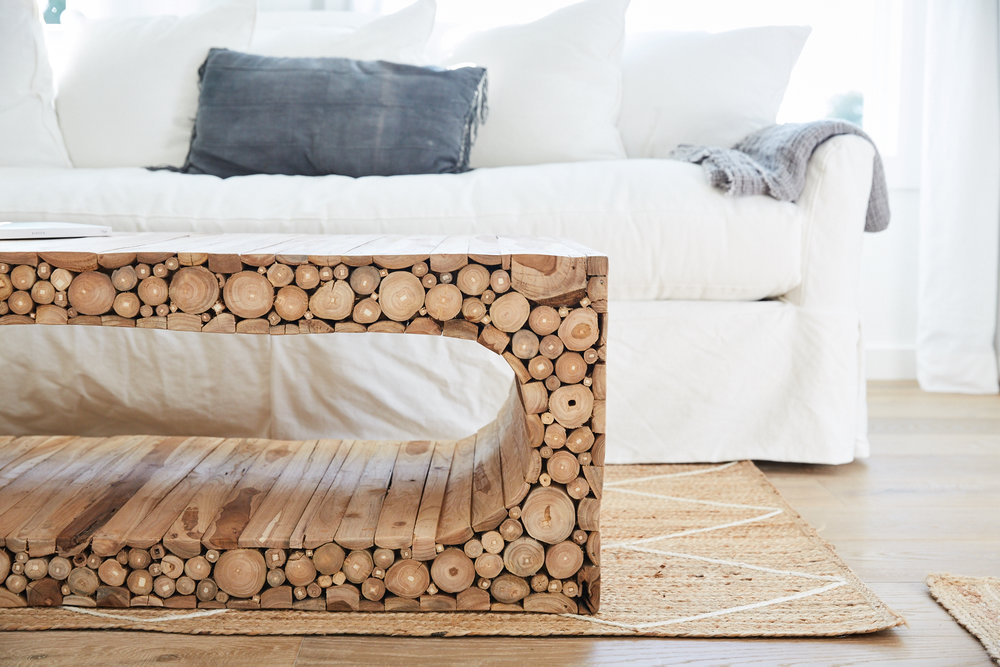 Coffee Table in Bedroom
