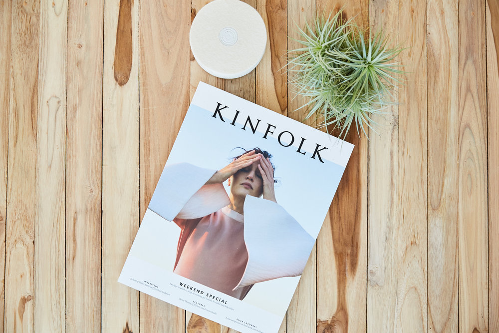 Kinfolk Magazine Coffee Table