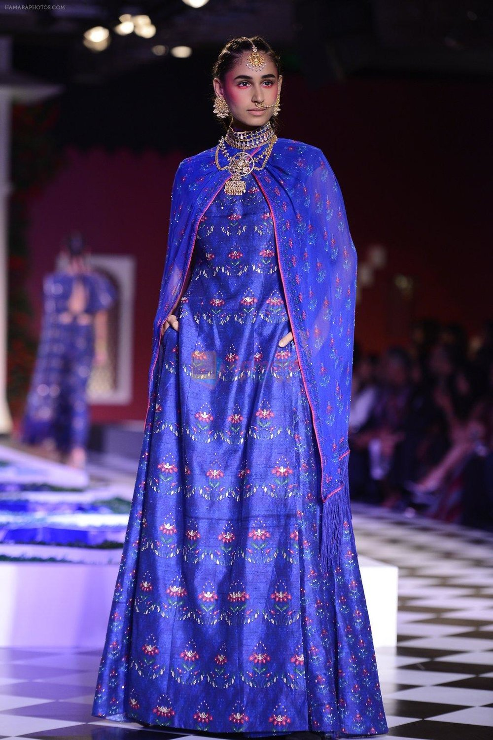 Model walk the ramp for Anita Dongre show at the FDCI India Couture Week 2016 on 21st July 2016 shown to user