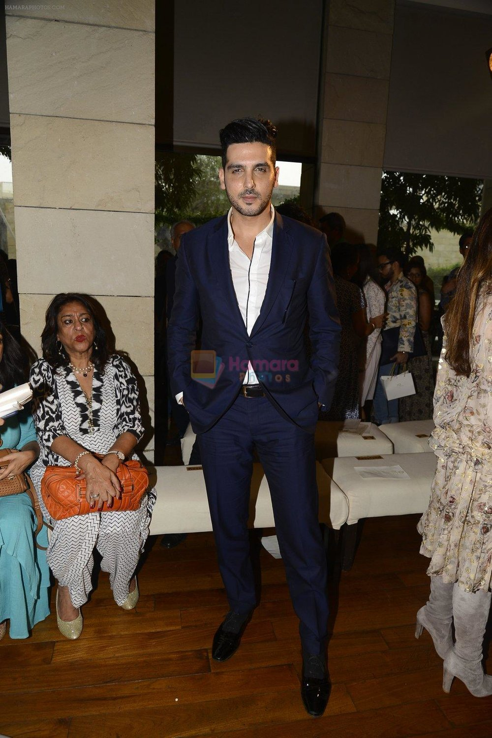 Zayed Khan during Manav Gangwani latest collection Begum-e-Jannat at the FDCI India Couture Week 2016 on 24 July 2016 shown to user