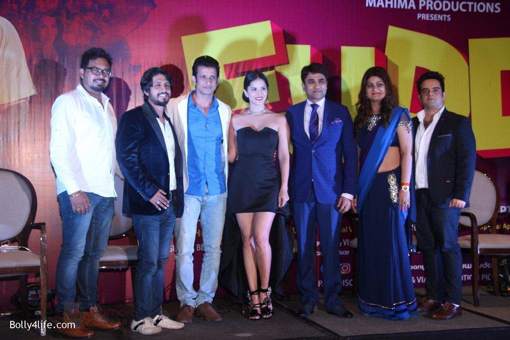 Sunny-Leone-Sharman-Joshi-Pawan-Kumar-Sharma-Gandharv-Sachdev-Pradeep-Gupta-and-Ma-at-the-launch-of-film-Fuddu-song-Tu-Zaroorat-Nahi-Tu-Zaroori-Hai-on-20th-Sept-2016-.jpg