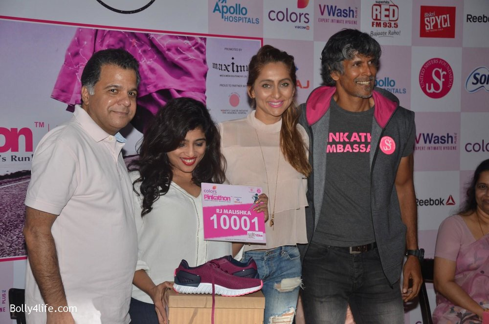 Raj-Nayak-CEO-Colors-RJ-Malishka-Bollywood-actor-Anusha-Dandekar-and-model-Milind-Soman-during-the-announcement-of-Fifth-Edition-of-Pinkathon-2.jpg