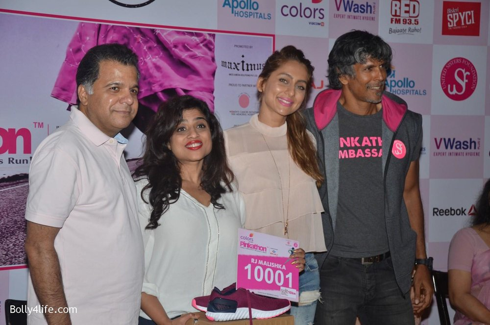 Raj-Nayak-CEO-Colors-RJ-Malishka-Bollywood-actor-Anusha-Dandekar-and-model-Milind-Soman-during-the-announcement-of-Fifth-Edition-of-Pinkathon-6.jpg