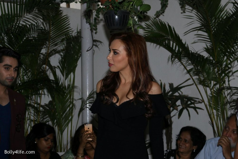 Salman-Khans-friend-Iulia-Vantur-during-teaser-launch-of-song-Every-Night-and-Day-8.jpg