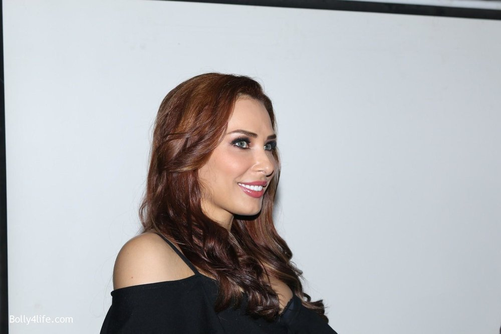 Salman-Khans-friend-Iulia-Vantur-during-teaser-launch-of-song-Every-Night-and-Day-12.jpg