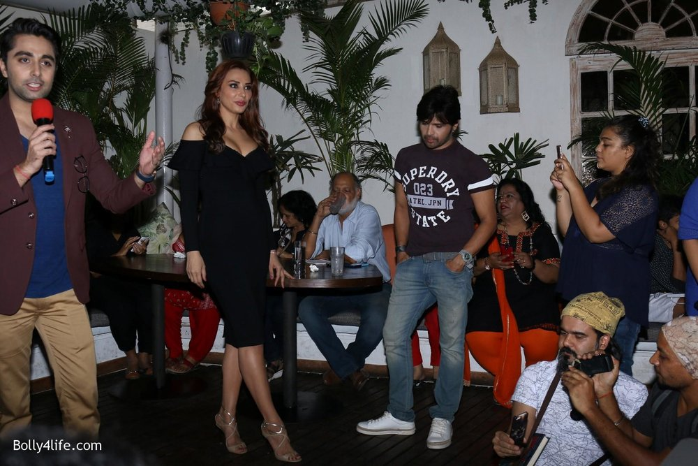 Salman-Khans-friend-Iulia-Vantur-during-teaser-launch-of-song-Every-Night-and-Day-18.jpg