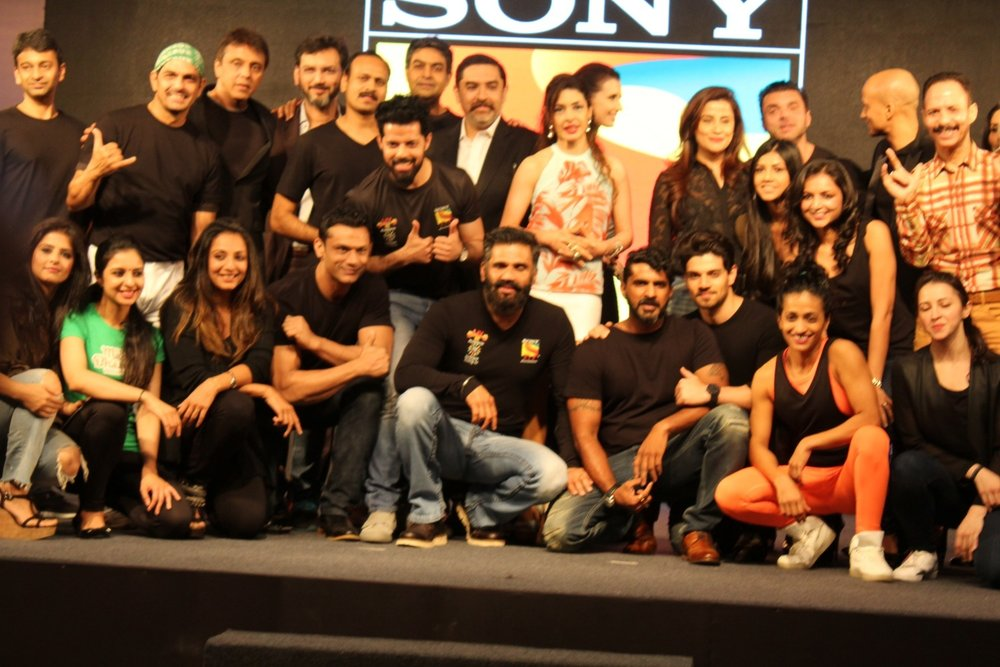 Mumbai: Celebs performs launch of fitness television show Liv fit will be soon aired on the Sony Liv channel in Mumbai on Jan 19, 2017. (Photo: (IANS)