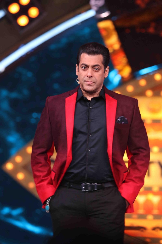 Mumbai: Actor Salman Khan on the sets of Bigg Boss season 10 during the promotion of film Raees in Mumbai on Jan 20, 2017. (Photo: (IANS)