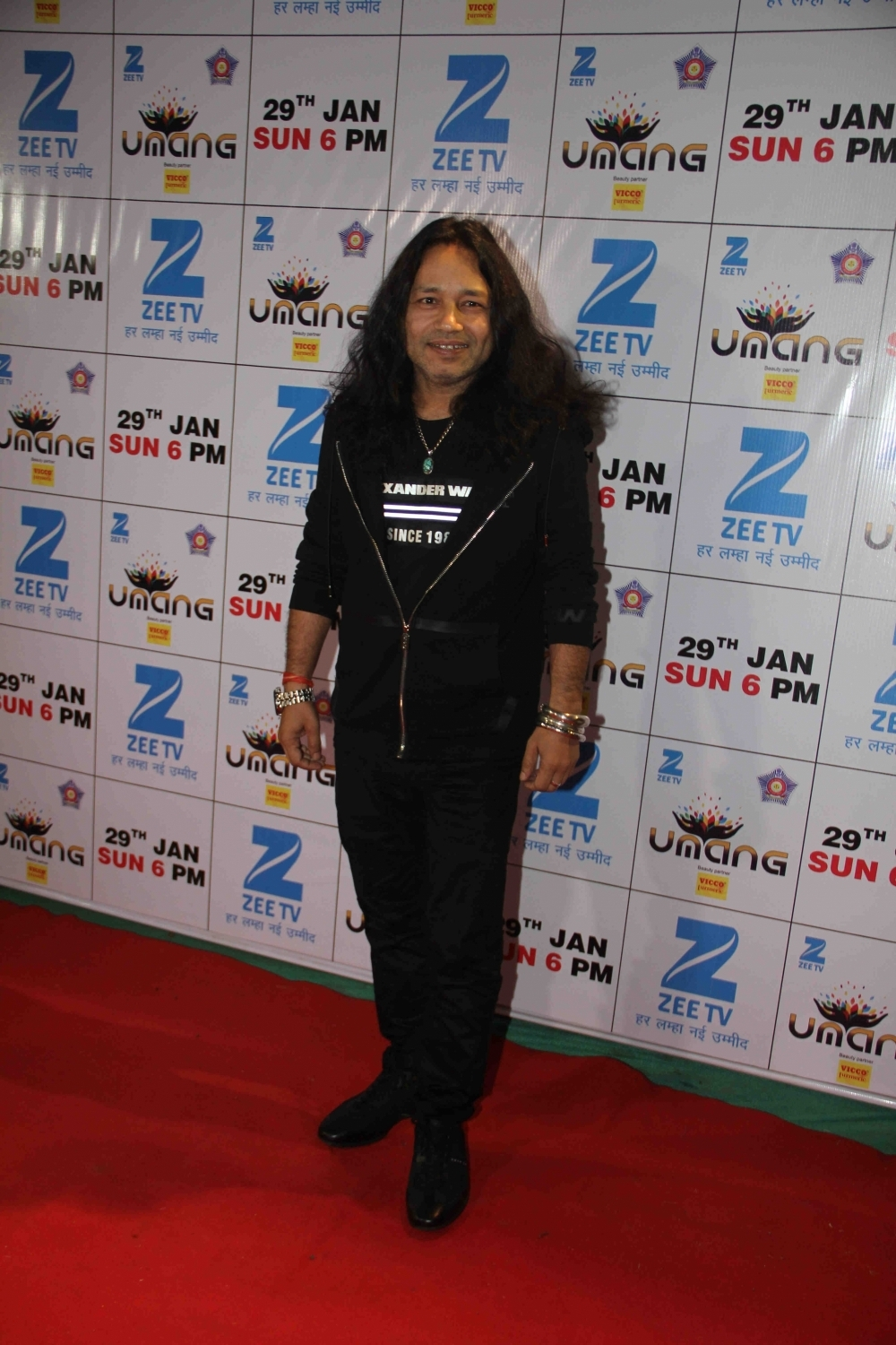 Mumbai: Singer Kailash Kher during the Umang Mumbai Police Show 2017 in Mumbai on Jan 22, 2017. (Photo: IANS)