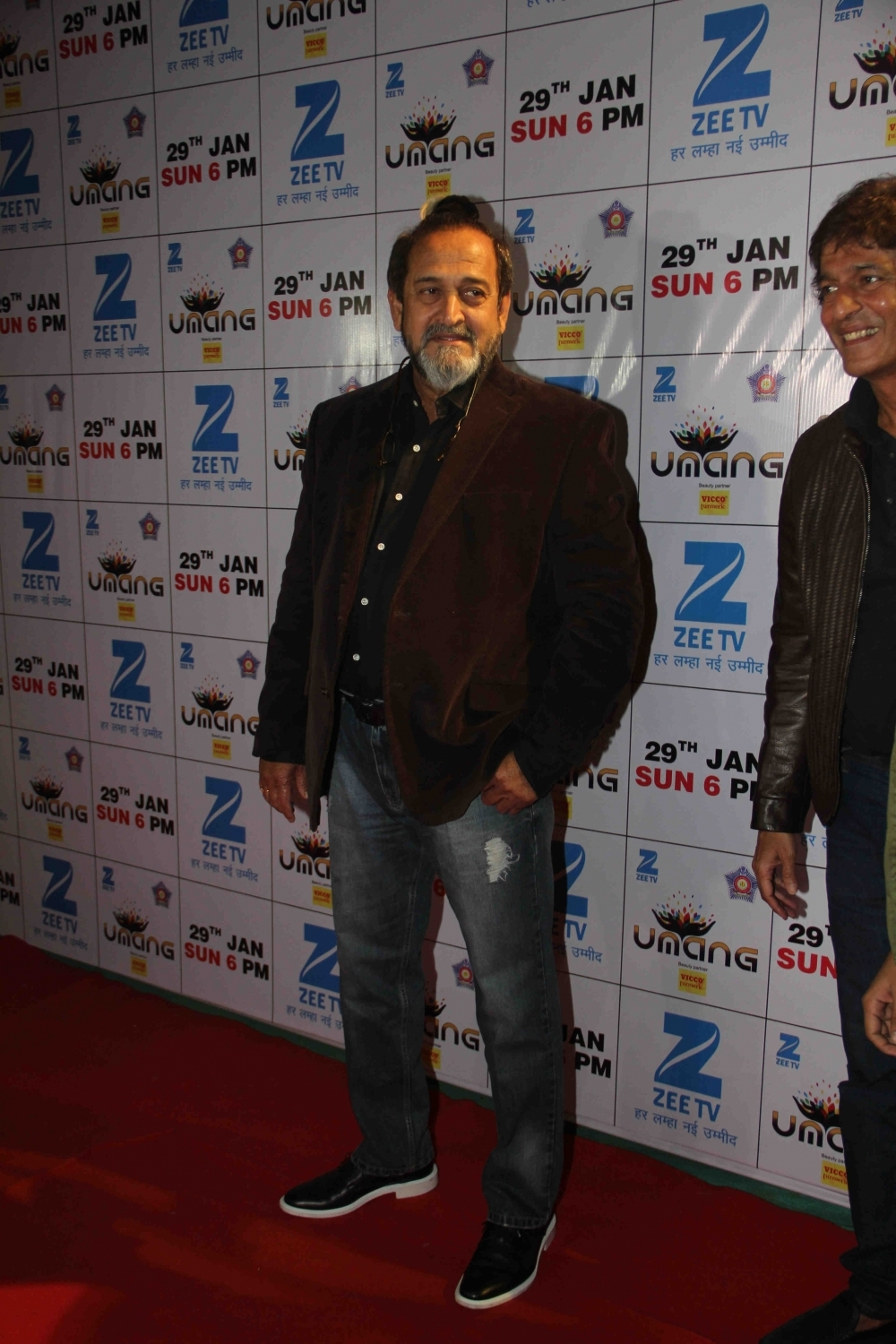 Mumbai: Actor Mahesh Manjrekar during the Umang Mumbai Police Show 2017 in Mumbai on Jan 22, 2017. (Photo: IANS)