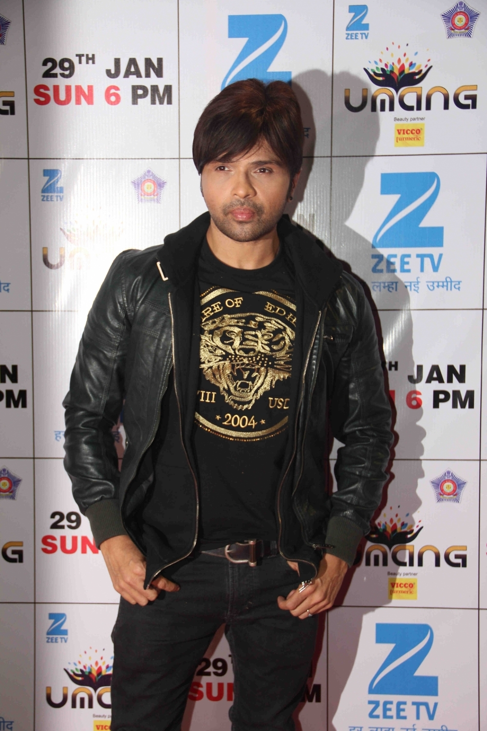Mumbai: Singer Himesh Reshammiya during the Umang Mumbai Police Show 2017 in Mumbai on Jan 22, 2017. (Photo: IANS)