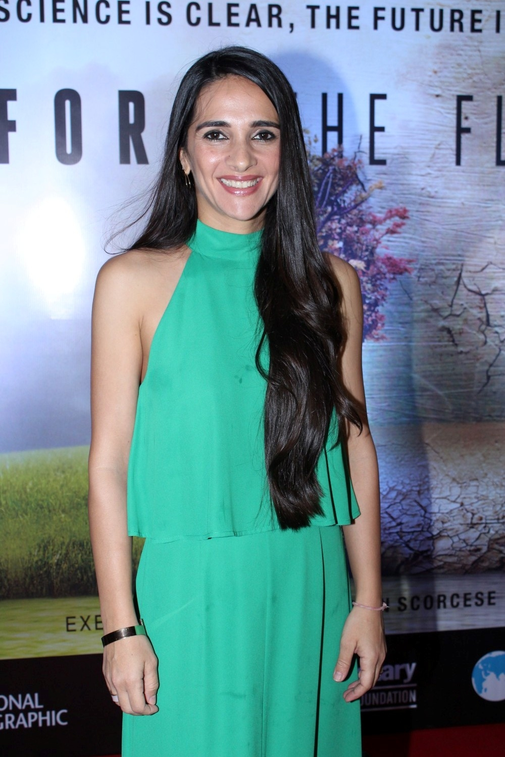 Mumbai: Actress Tara Sharma during the screening of Leonardo DiCaprio-starring climate change documentary Before the Flood in Mumbai on Jan 23, 2017. (Photo: IANS)