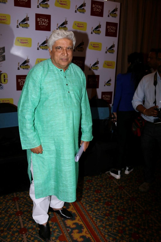 Mumbai: Script writer Javed Akhtar during Radio Mirchi Music Awards in Mumbai on Jan 24, 2016. (Photo: IANS)