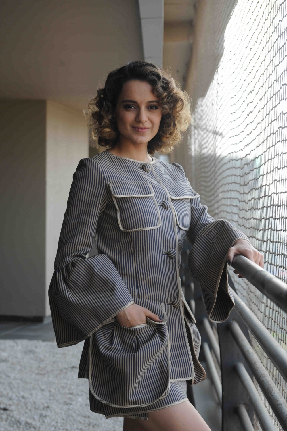 Mumbai: Actress Kangana Ranaut during the media interaction of film Rangoon in Mumbai on Jan 24, 2017 (Photo: IANS)