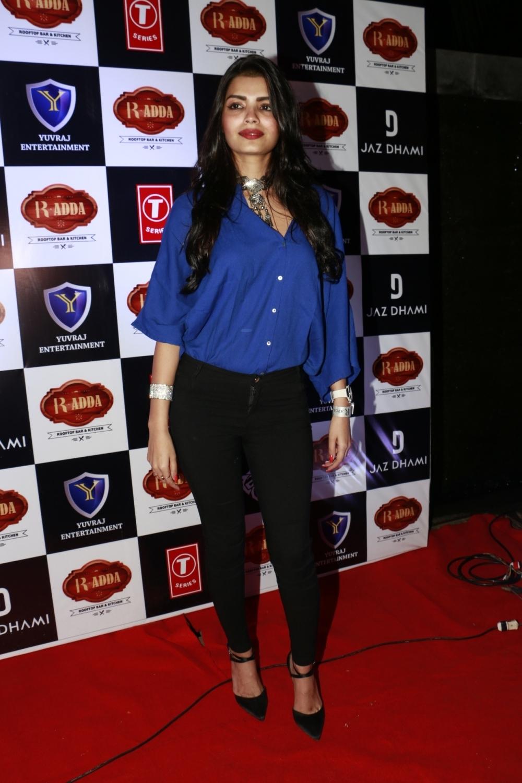 "Mumbai: Sonali Raut during the launch of song ""Desi Girls Do It Better"" in Mumbai on Jan 26, 2017. (Photo: IANS)"