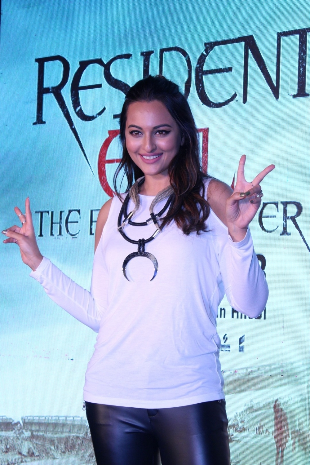 Mumbai: Sonakshi Sinha during the launch of India's first Virtual Reality Hepatic Gaming Experience , Resident Evil,  in Mumbai on Jan 27, 2017. (Photo: IANS)