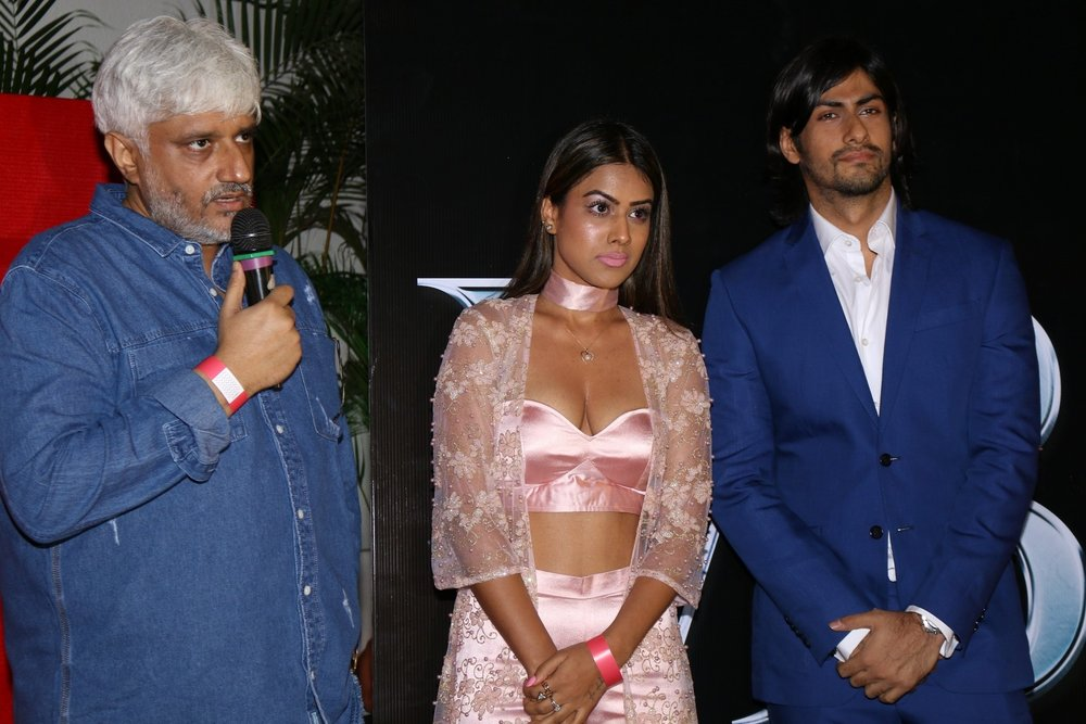 Mumbai: Filmmaker Vikram Bhatt during the launch of his new series 'Maaya' on his own web channel, VB on the web, in Mumbai on Jan 27, 2017. (Photo: IANS)