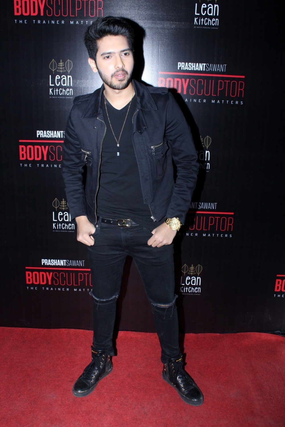 Mumbai: Singer Armaan Mallik during the launch party of Body Sculptor Gym in Mumbai on Jan 28, 2017. (Photo: IANS)