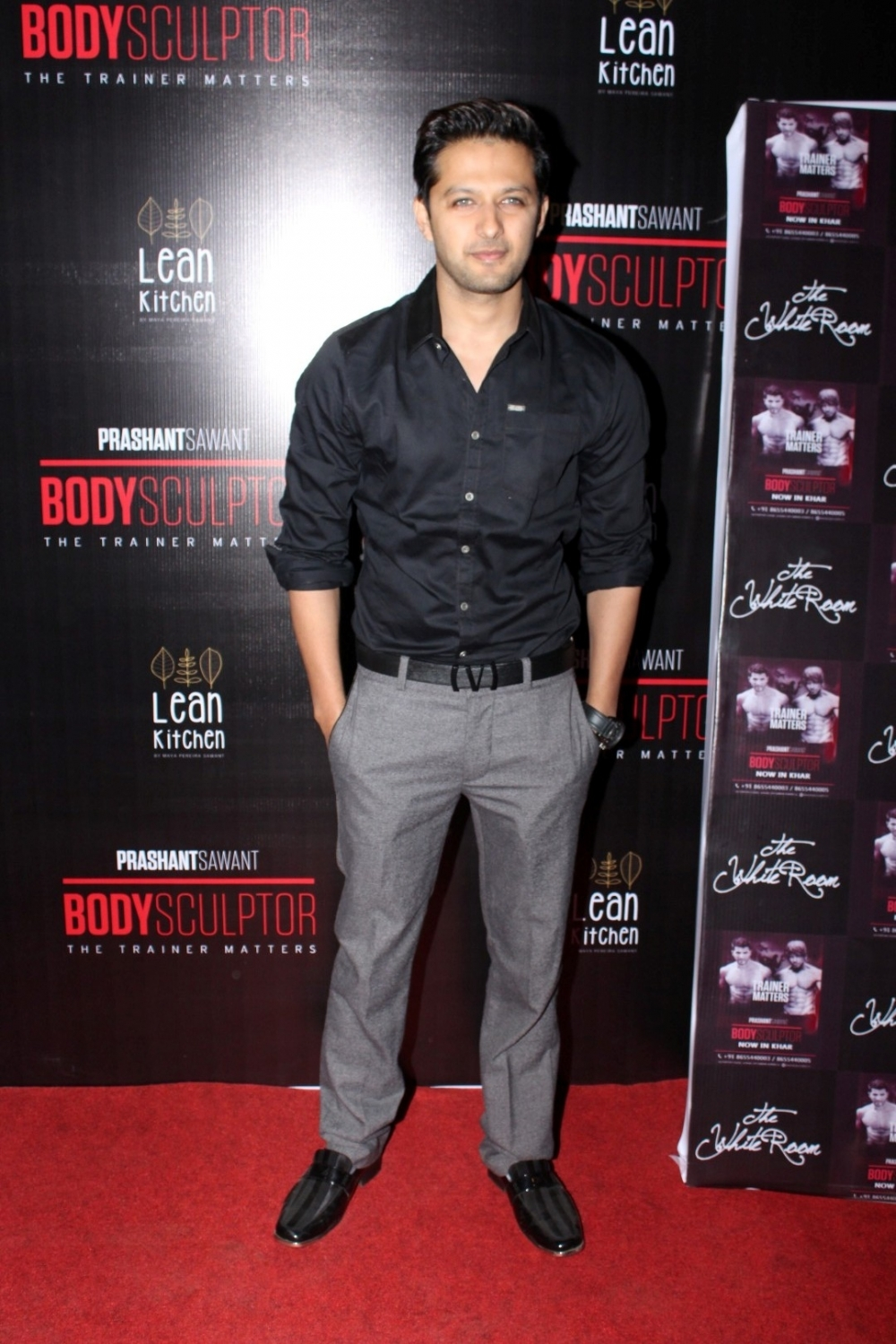 Mumbai: Actor Vatsal Sheth during the launch party of Body Sculptor Gym in Mumbai on Jan 28, 2017. (Photo: IANS)