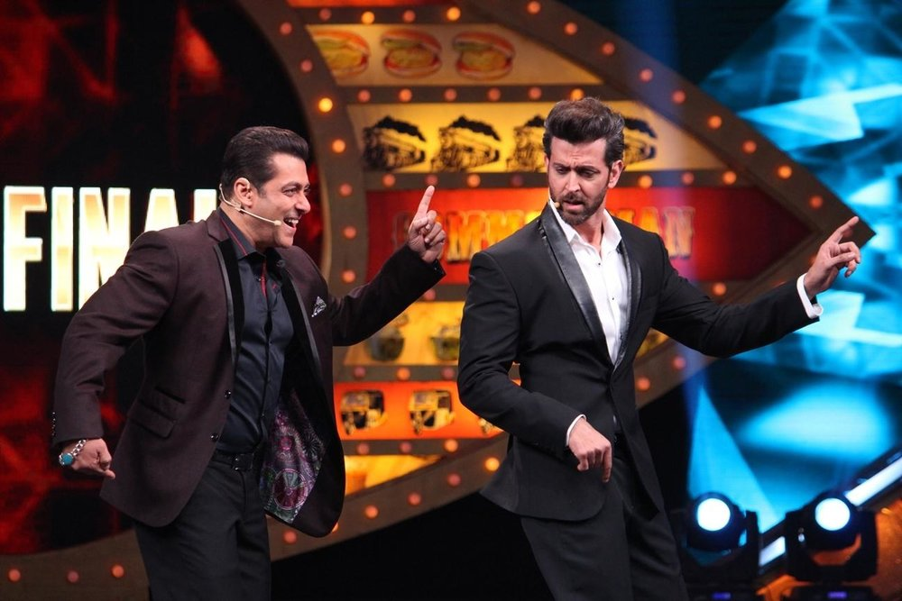 Mumbai: Stills from Bigg Boss 10 grand finale.