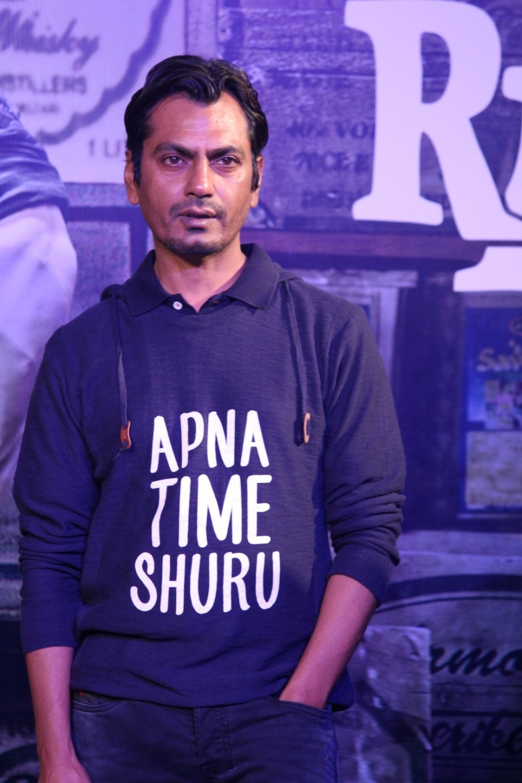 Mumbai: Actor Nawazuddin Siddiqui during the success party of film Raees in Mumbai on Jan 30, 2017. (Photo: IANS)