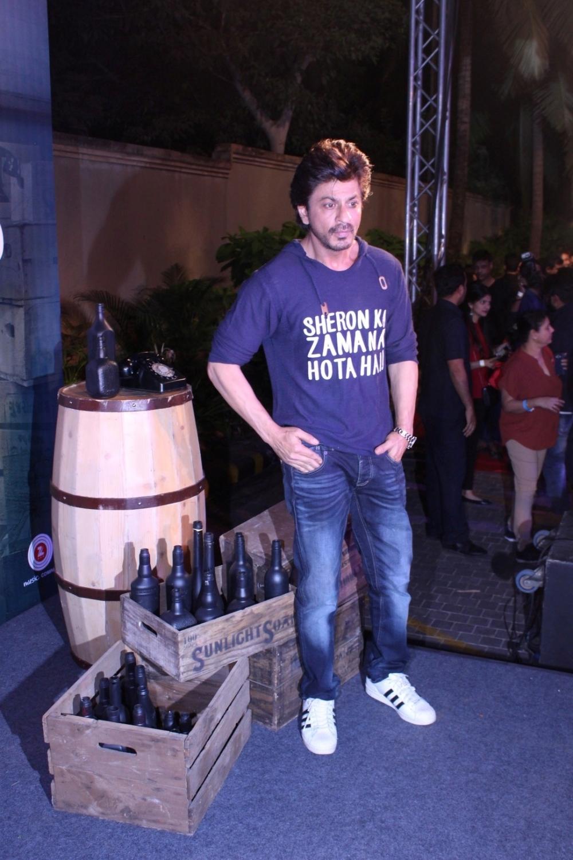 Mumbai: Actor Shahrukh Khan during the success party of film Raees in Mumbai on Jan 30, 2017. (Photo: IANS)