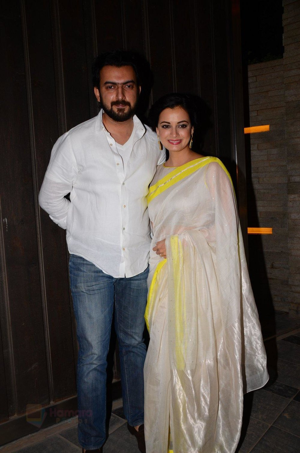 Dia Mirza at Gupta's bash on 25th Jan 2017 shown to user 34724