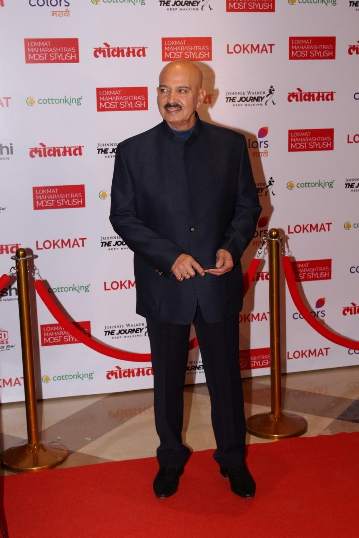 Mumbai:  Filmmaker Rakesh Roshan during the Lokmat Maharashtra Most Stylish Awards in Mumbai on Feb 1, 2017. (Photo: IANS)
