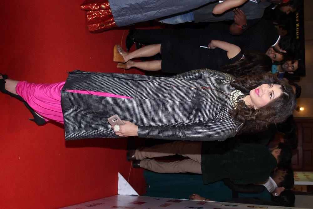 Mumbai:  Actor Tejaswini Pandit during the Lokmat Maharashtra Most Stylish Awards in Mumbai on Jan 31, 2017. (Photo: IANS)