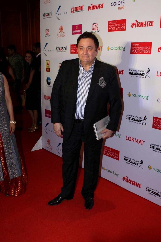 Mumbai:  Actor Rishi Kapoor during the Lokmat Maharashtra Most Stylish Awards in Mumbai on Jan 31, 2017. (Photo: IANS)