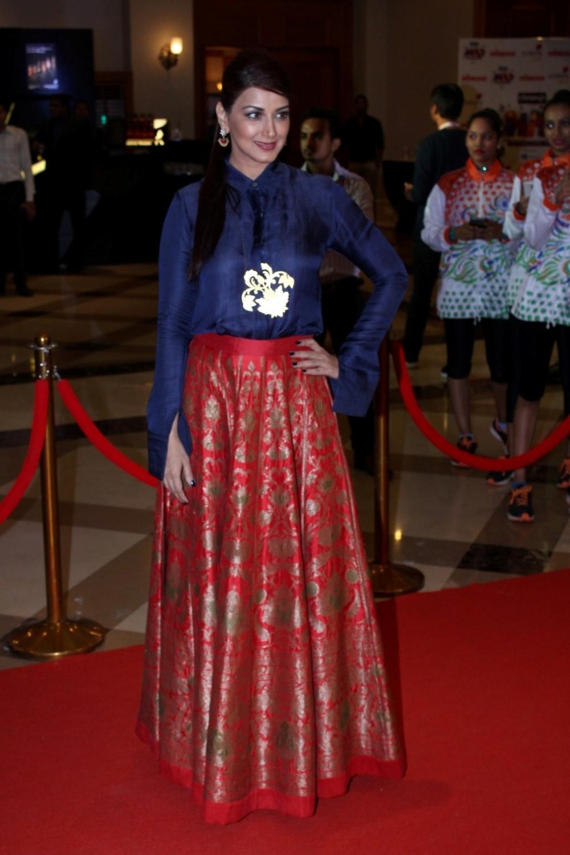 Mumbai:  Actress Sonali Bendre during the Lokmat Maharashtra Most Stylish Awards in Mumbai on Jan 31, 2017. (Photo: IANS)