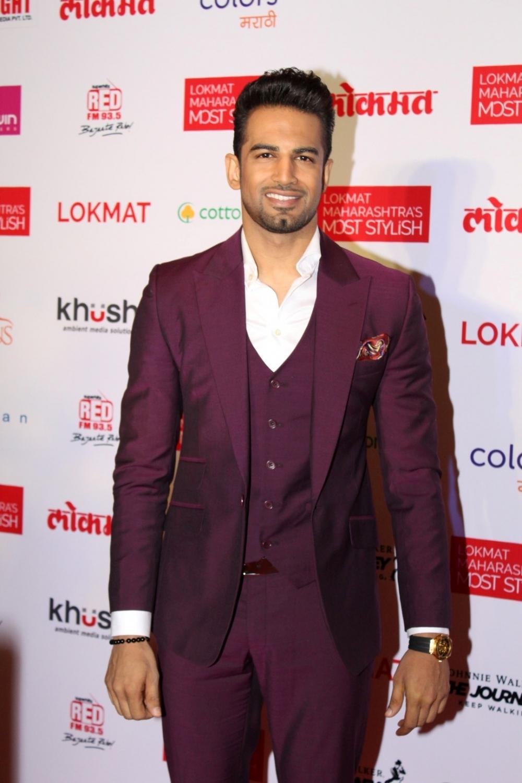 Mumbai:  Actor Upen Patel during the Lokmat Maharashtra Most Stylish Awards in Mumbai on Jan 31, 2017. (Photo: IANS)